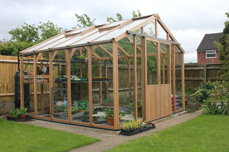 Alton Evolution Ten 10 x 10 Cedar Greenhouse