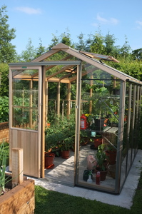 Alton Evolution Six 6x8 Cedar Greenhouse