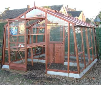 Alton Amateur greenhouse 10ft