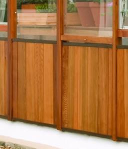 Alton Clip on Cedar Panels for Amateur