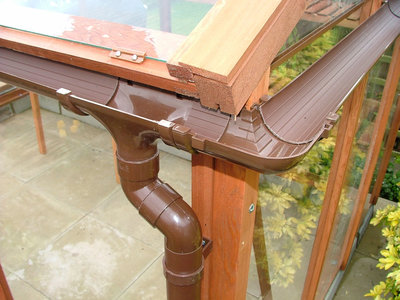 Guttering and Downpipes both sides