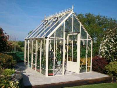 Ivory Victorian Greenhouse