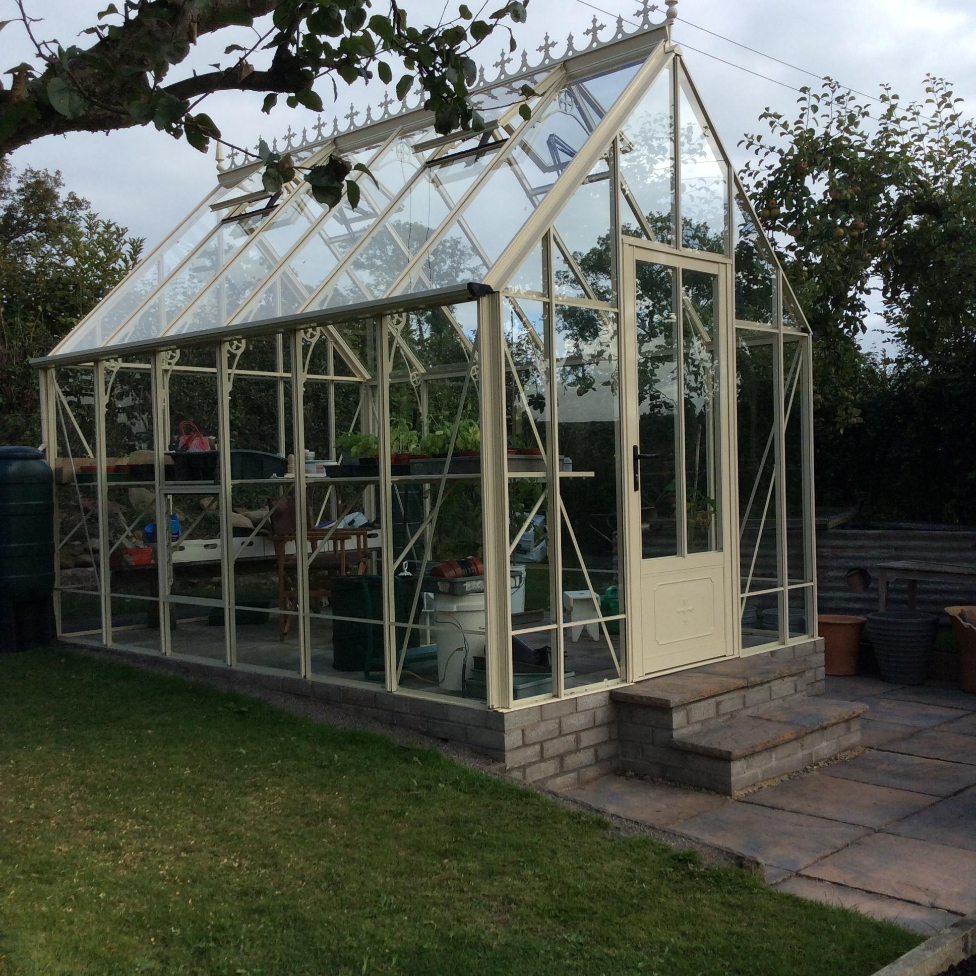 Victorian Ratcliffe Ivory Greenhouse 8 39 6 X 12 39 8