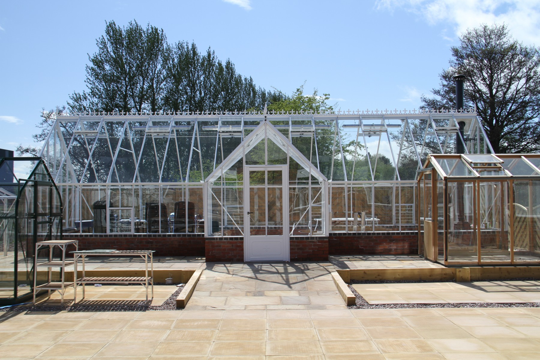 Roemoor White Greenhouse 15 8 Quot X 37 1 Quot Robinsons
