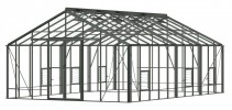 Renown Old Cottage Green Greenhouse