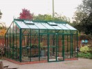 Redoubtable Old Cottage Green Greenhouse