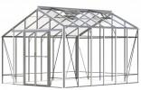 Redoubtable Plain Aluminium Greenhouse