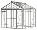 Royale Reach Plain Aluminium Greenhouse