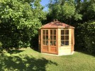 Mickleton 8x9 Summerhouse (Red Felt Roof)