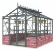 Royale 8ft6 x 10ft8 Anthracite **DWARF WALL**