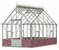 Victorian Rushmoor Pastel Sage Greenhouse