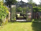Royale Old Cottage Green Greenhouse