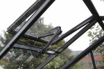 5ft Wide LEAN-TO Anthracite Greenhouse