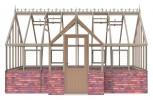 Alton Elmhurst Victorian (Dwarf Wall) 9ft x 16ft