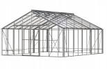 Renown Plain Aluminium Greenhouse