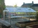 Rosette Plain Aluminium Greenhouse