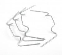 50 x wire glazing clips