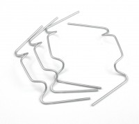 25 x galvanised wire glazing clips