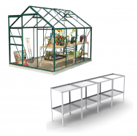 Classic 6ft x 8ft Green **Professional Package**