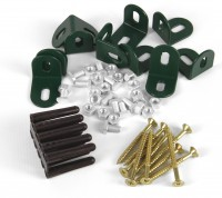 Base Brackets Set Green