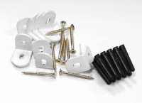 Base Brackets Set White