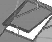 / AGL Extra plain aluminium roof vent