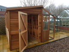 Shed Greenhouse Combinations Alton Greenhouses