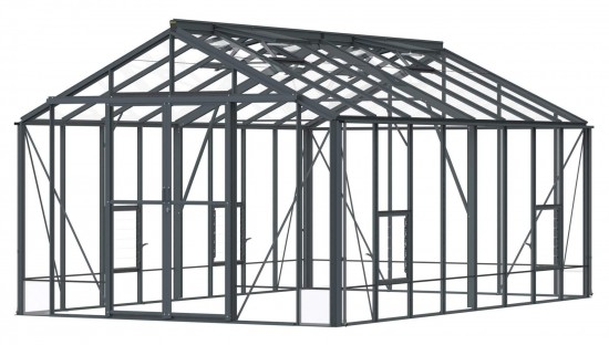 Rosette Anthracite Greenhouse