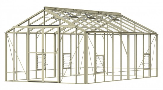 Rosette Ivory Greenhouse