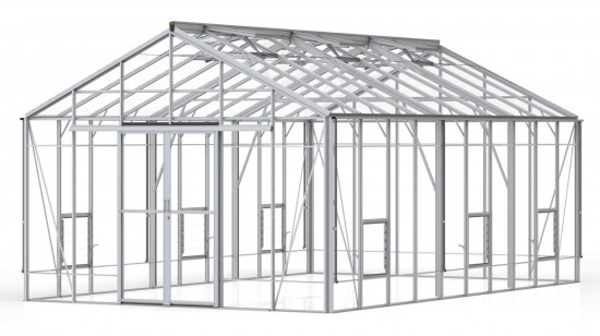 Regal Plain Aluminium Greenhouse