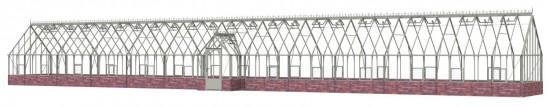 Ramsbury Pastel Sage Greenhouse