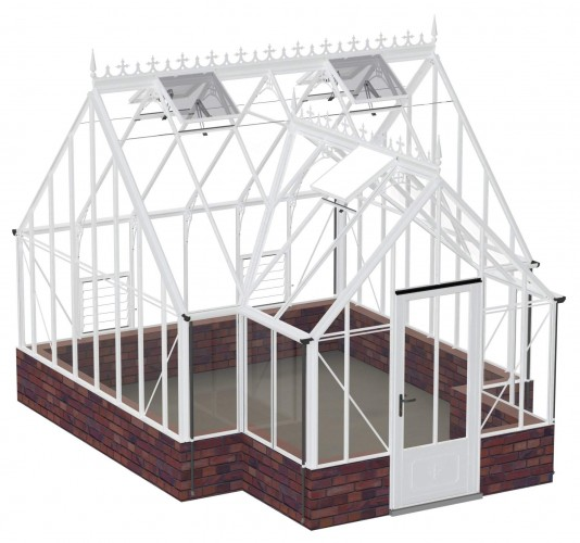 Roemoor White Greenhouse