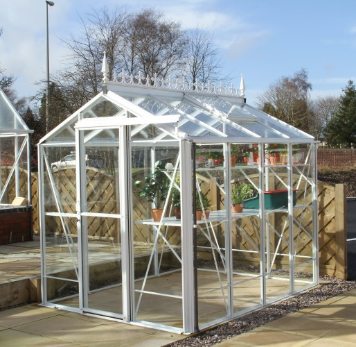 Regent White Greenhouse