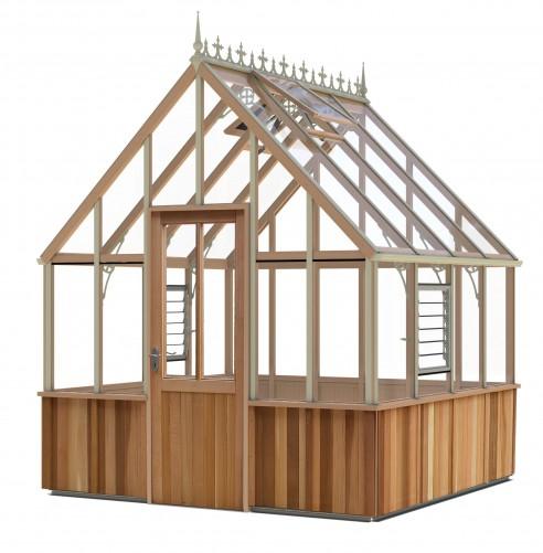 Cheltenham Victorian Cedar Greenhouse