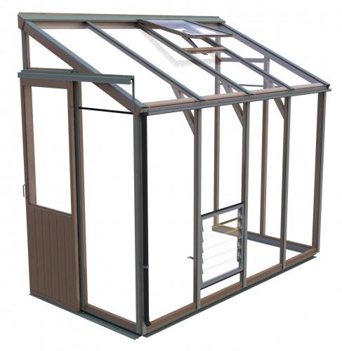 Evolution Four-LT Cedar Greenhouse (4'4