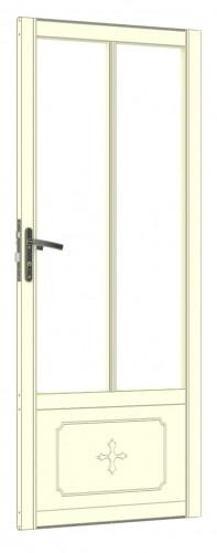 Extra Victorian Door In Rear Gable Ivory
