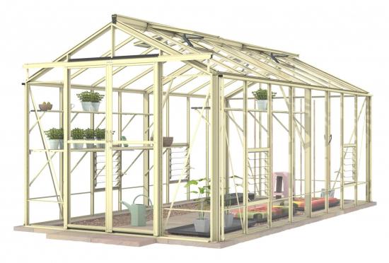 Royale Ivory Greenhouse