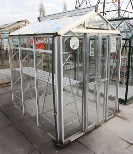 Regatta Plain Aluminium Greenhouse