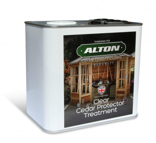 Clear Cedar Wood Protector Treatment 2.5 Litres