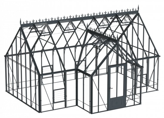 Reicliffe Anthracite Greenhouse