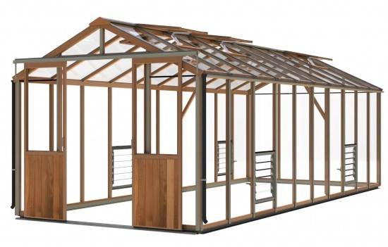 Evolution Eight Cedar Greenhouse
