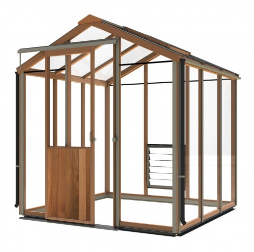 Evolution Six Cedar Greenhouse