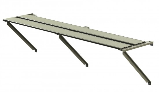 Shelf 1ft Wide 8ft Long (Moss)