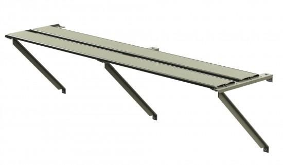 Shelf 1ft Wide 22ft Long (Moss)