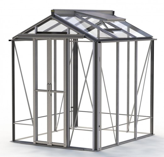 Regatta Plain Aluminium Greenhouse