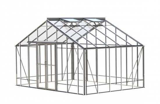 Renown Plain Aluminium Greenhouse