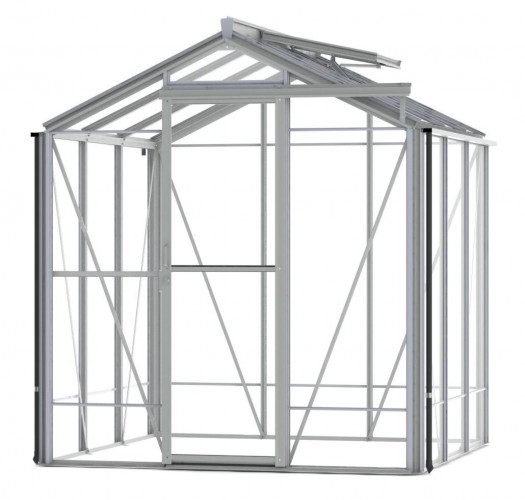 Regent Plain Aluminium Greenhouse