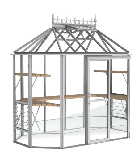 Renaissance White Greenhouse