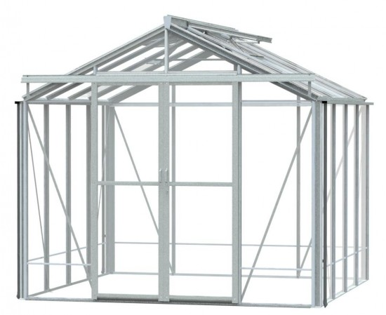 Royale Plain Aluminium Greenhouse