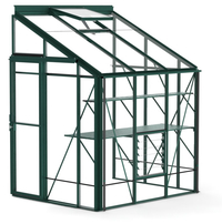 Robinsons 5ft wide lean-to greenhouse